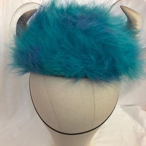 New Disney Pixar SULLY Monsters Inc Blue Fur Hat